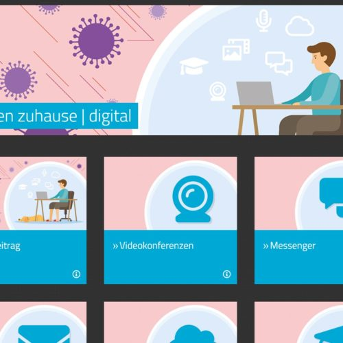 Lernen zuhause digital – Mebis Infoportal